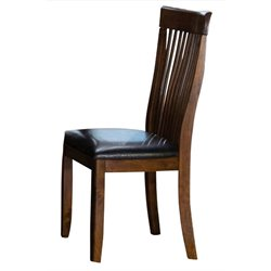 Trent Home Alita Dining Chair in Warm Cherry (Set of 2)