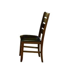 Trent Home Ameillia Dining Chair in Dark Oak (Set of 2)