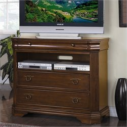 Trent Home Greenfield TV Chest in Cherry