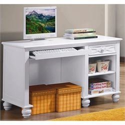 Trent Home Sanibel Computer Desk in White