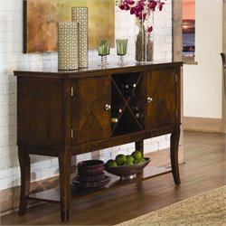 Trent Home Alita Server in Warm Cherry