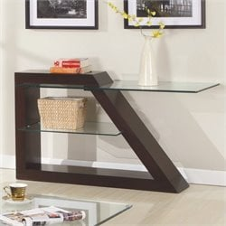 Trent Home Jensen Sofa Table in Espresso