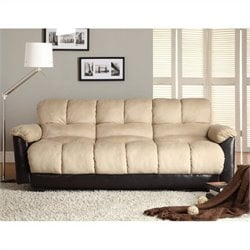Trent Home Piper Elegant Lounger in Caramel