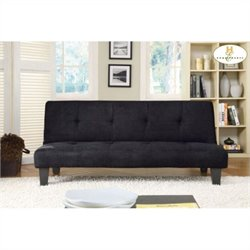 Trent Home Albert Elegant Lounger in Black