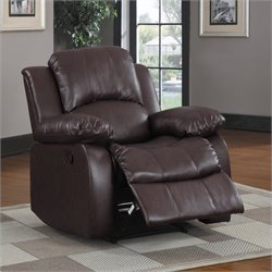 Trent Home Cranley Leather Recliner