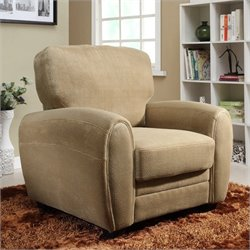 Trent Home Rubin Chair in Light Brown