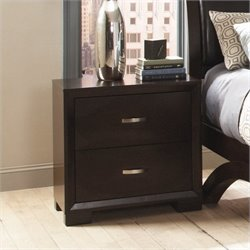 Trent Home Astrid Nightstand in Espresso Finish