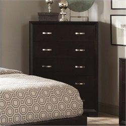 Trent Home Astrid Chest in Espresso Finish