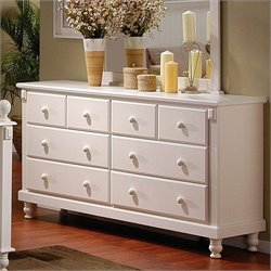 Trent Home Pottery White Dresser
