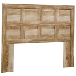Full Queen Panel Headboard in Craftsman Oak