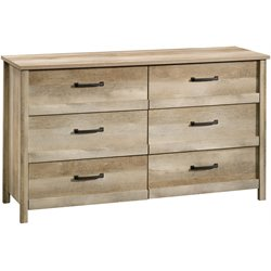 6 Drawer Dresser in Lintel Oak