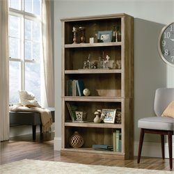5 Shelf Bookcase in Lintel Oak