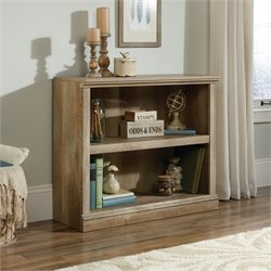 2 Shelf Bookcase in Lintel Oak