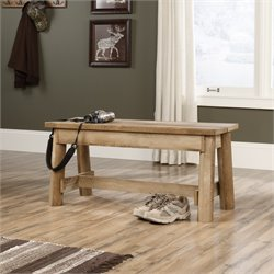 Bench in Craftsman Oak