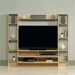 Sauder Beginnings Entertainment Center in Urban Ash