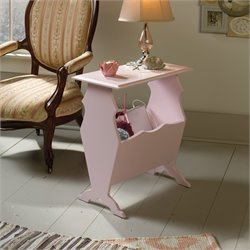 End Table in Pink