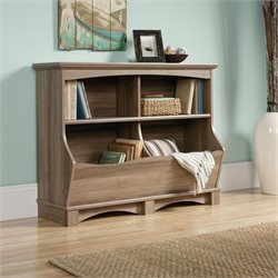 Bin Bookcase in Salt Oak
