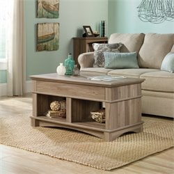 Lift Top Coffee Table in Salt Oak