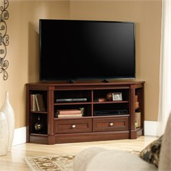 Corner TV Stand in Cherry