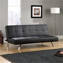 Convertible Sofa in Black
