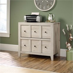 MER-1274 Dakota Pass 2 Drawer File Cabinet TV Stand
