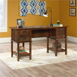 Sauder Viabella Writing Desk in Curado Cherry