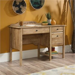 Sauder Viabella Writing Desk in Antigua Chestnut