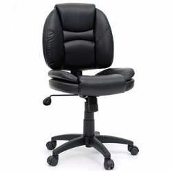 Sauder Gruga Office Chair in Black