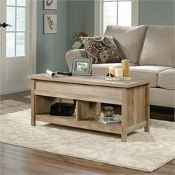 Sauder Cannery Bridge Lift Top Coffee Table in Lintel Oak