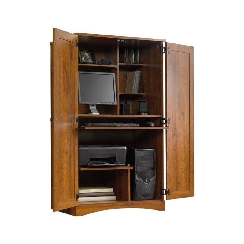 Beautiful Home Furniture Armoire Computer Armoire Oak Computer Armoire
