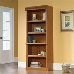 5 Shelf Bookshelf in Carolina Oak