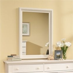 Mirror in Antiqued White