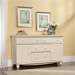 Dresser in Antiqued White