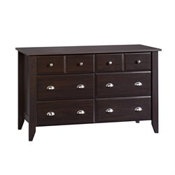 Sauder Shoal Creek Dresser in Jamocha Wood