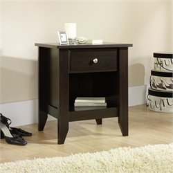 Sauder Shoal Creek Nightstand in Jamocha Wood