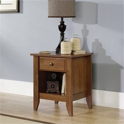 Sauder Shoal Creek Nightstand in Oiled Oak