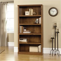Five Shelf Bookcase in Oiled Oak