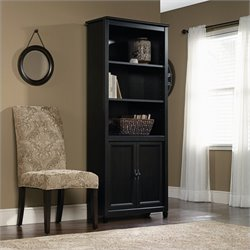 Library Bookcase in Estate Black
