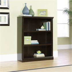 3 Shelf Bookcase in Jamocha Wood