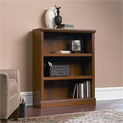 Sauder Select 3 Shelf Bookcase in Abbey Oak