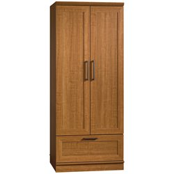 Wardrobe Armoire in Oak Finish