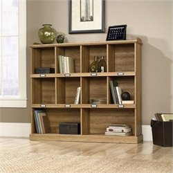 Bookcase in Scribed Oak Finish