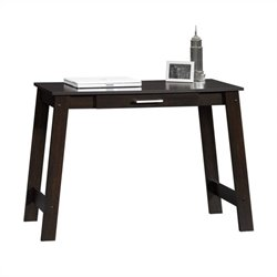 Sauder Beginnings Writing Table in Cinnamon Cherry