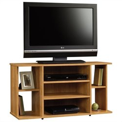 Sauder Beginnings TV Stand in Highland Oak