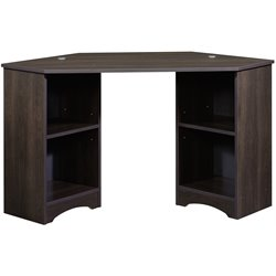 Sauder Beginnings Corner Desk in Cinnamon Cherry