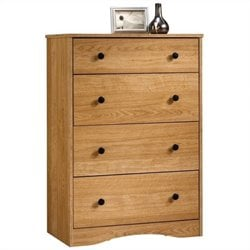 4 Drawer Chest in Highland Oak