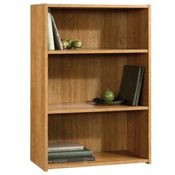 Sauder Beginnings 3 Shelf Bookcase in Highland Oak