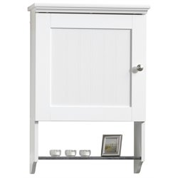 Sauder Caraway Wall Cabinet in Soft White