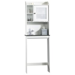 Sauder Caraway Etagere in Soft White