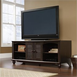 Sauder Harbor View TV Stand in Antiqued Paint